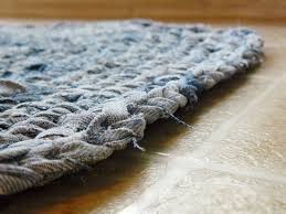 Denim Rag Rugs The Woven Home Crochet Projects Jean Rug