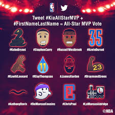 lexus philippines twitter nba unveils twitter emojis as part of kia nba all star mvp voting