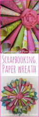 diy how to make a paper wreath u2013 craftbnb