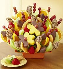 dipped fruit baskets abundant fruit chocolate tray strawberries dipped in milk