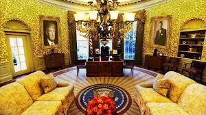 news president trump has already redecorated the oval office