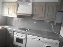 peindre une cuisine en gris cuisine repeinte en v33 gris chaios com