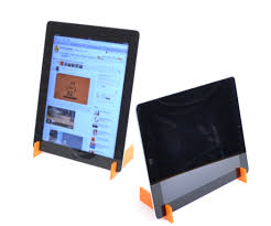 ipad 2 laser cut stand with pictures