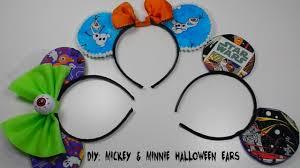 headbands for halloween diy mickey mouse ears halloween costume youtube