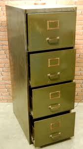 vintage metal file cabinet vintage olive green metal filing cabinet