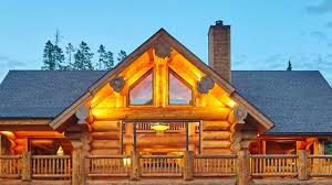 luxury log homes interior design youtube