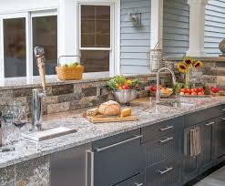 outdoor kitchen cabinets built in or modular the platinum group