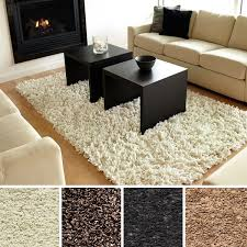 Modern Shaggy Rugs Room Wishlist Medium Sized Modern Shag Rug In Grey Or