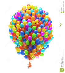 bunch of balloons big bunch of party balloons royalty free stock photography image