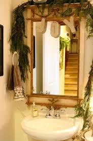 Decorate A Bathroom Mirror How To Decorate A Bathroom Mirror For Christmas 5 Ideas For