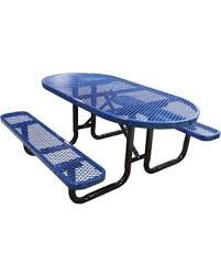 leisure craft picnic tables find the best deals on leisure craft opt72ig granite metal outdoor