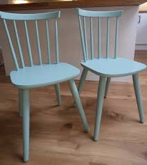 Upcycled Kitchen Ideas by Vintage Dining Chairs Upcycled With Craig U0026 Rose Morris Blue