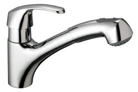 kitchen faucet with pull out spray faucet 32999sd0 in stainless steel by grohe