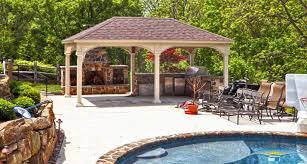 Pool Pavilion Plans Pavilions Outdoor Pavilions Horizon Structures
