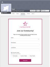 Join Our Facebook Page Add A Klaviyo Sign Up Form To A Facebook Page U2013 Klaviyo Help Center