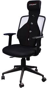desk chair with headrest dxracer sc 05 n office chair black pu ergonomic headrest cushion