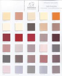 autentico vintage colour chart the italians