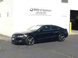 used 2010 audi a5 coupe brilliant black for sale in spokane wa