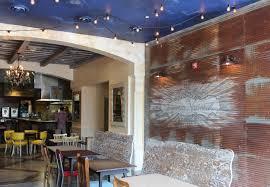 corrugated walls in restaurant corrugated pinterest