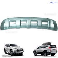 mitsubishi pajero sport 2018 front cladding under bumper trim fit mitsubishi pajero montero