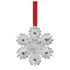 lenox annual dated china jewels snowflake ornament