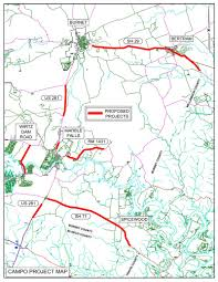 Map Request Burnet County Officials Request Federal Funds For 109m Road