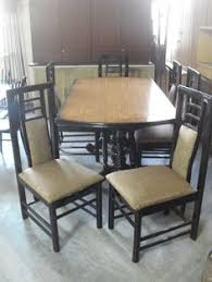 sheesham wood solid square table with brass fitted 6 seater dining table in sheesham wood http usedfurnitures in