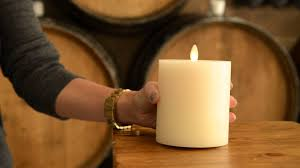 enhance your home decor with flameless candles pottery barn
