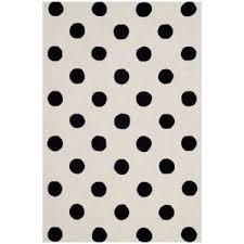 Brown And Black Rug Polka Dots Area Rugs You U0027ll Love Wayfair