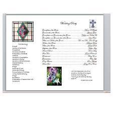 One Page Wedding Program Keelee U0027s Blog Arabic Wedding Decorations For Outside House Rsvp