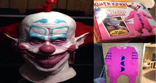 halloween costumes without masks unboxing the killer klowns from outer space slim halloween