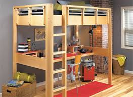 Bunk Bed Template Space Saving Loft Bed Woodsmith Plans