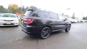 2018 dodge crossover 2018 dodge durango r t blacktop awd black jc115877 redmond