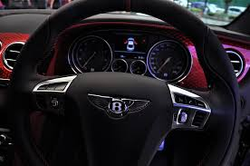 bentley steering wheel bentley continental gt speed black speed by mulliner limited