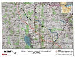 Map Of Medina Ohio by Ferc Considering New Adjustment To Nexus Pipeline Route Medina