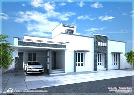 nano home plan and elevation in square feet kerala single floornew