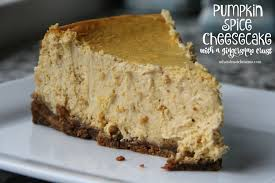 Gingersnap Pumpkin Cheesecake by Pumpkin Spice Cheesecake With A Gingersnap Crust Mix And Match Mama