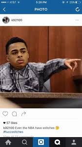 Nick Meme - total pro sports nick young likes d angelo russell snitching meme