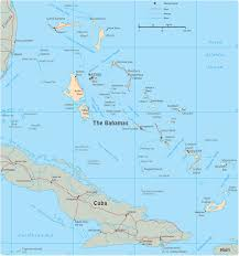 Map Of Cayman Islands Map Of The Bahamas