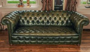 Chesterfield Sofa Used Second Hand Leather Chesterfield Sofa Bed Farmersagentartruiz Com