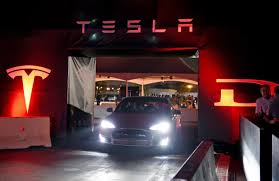 gigaom tesla u0027s strategy for the launch of the model 3 slowly emerges