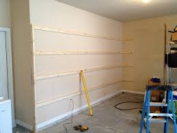 How To Build A Wall Cabinet by How To Build Sturdy Garage Shelves Home Improvement Stack