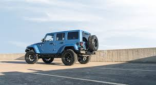 starwood jeep blue jeep jk with black rhino mint flickr