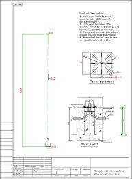 Solar Street Light Circuit Diagram by Best Price Drawing Solar Street Lighting Pole Buy Street