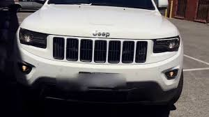 blacked out jeep copy of jeep grand cherokee blacked out white hd youtube
