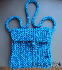 loom knitted messenger bag melli u0027s mish mash