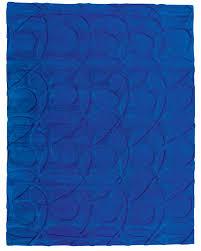 cobalt blue area rug at rug studio