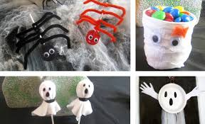 Crafts For Kids For Halloween - easy halloween crafts for kids