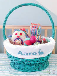 personalized easter basket easy diy personalized easter basket linerdiy show diy
