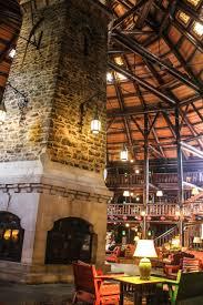 the amazing fireplace inside fairmont le chateau montebello free